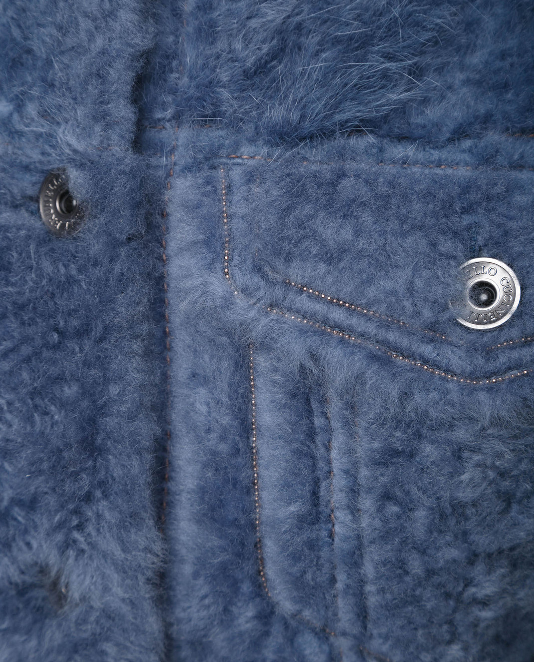 Brunello Cucinelli Синяя куртка MPMTE8527P изображение 3