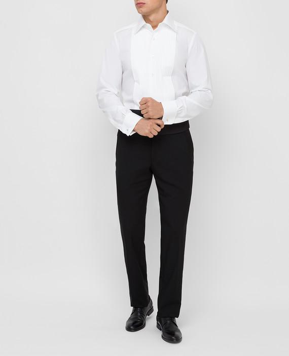 Белая рубашка hover
