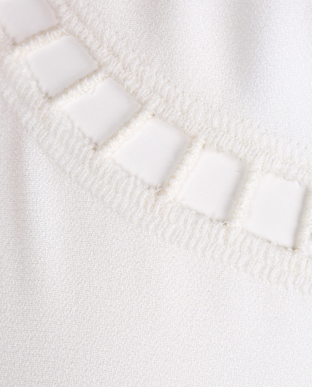 Ermanno Scervino Белое платье с кружевом D302Q320RVJ изображение 5