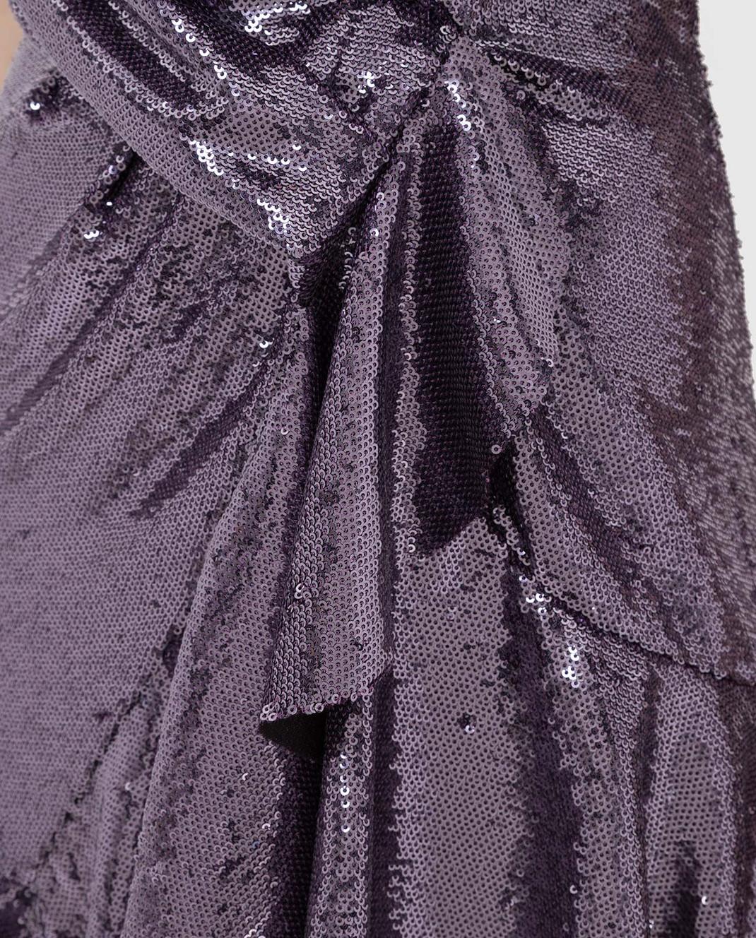 Philosophy di Lorenzo Serafini Фиолетовое платье в пайетках изображение 5