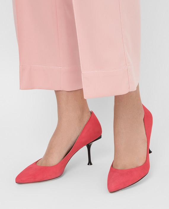 Замшевые туфли hover