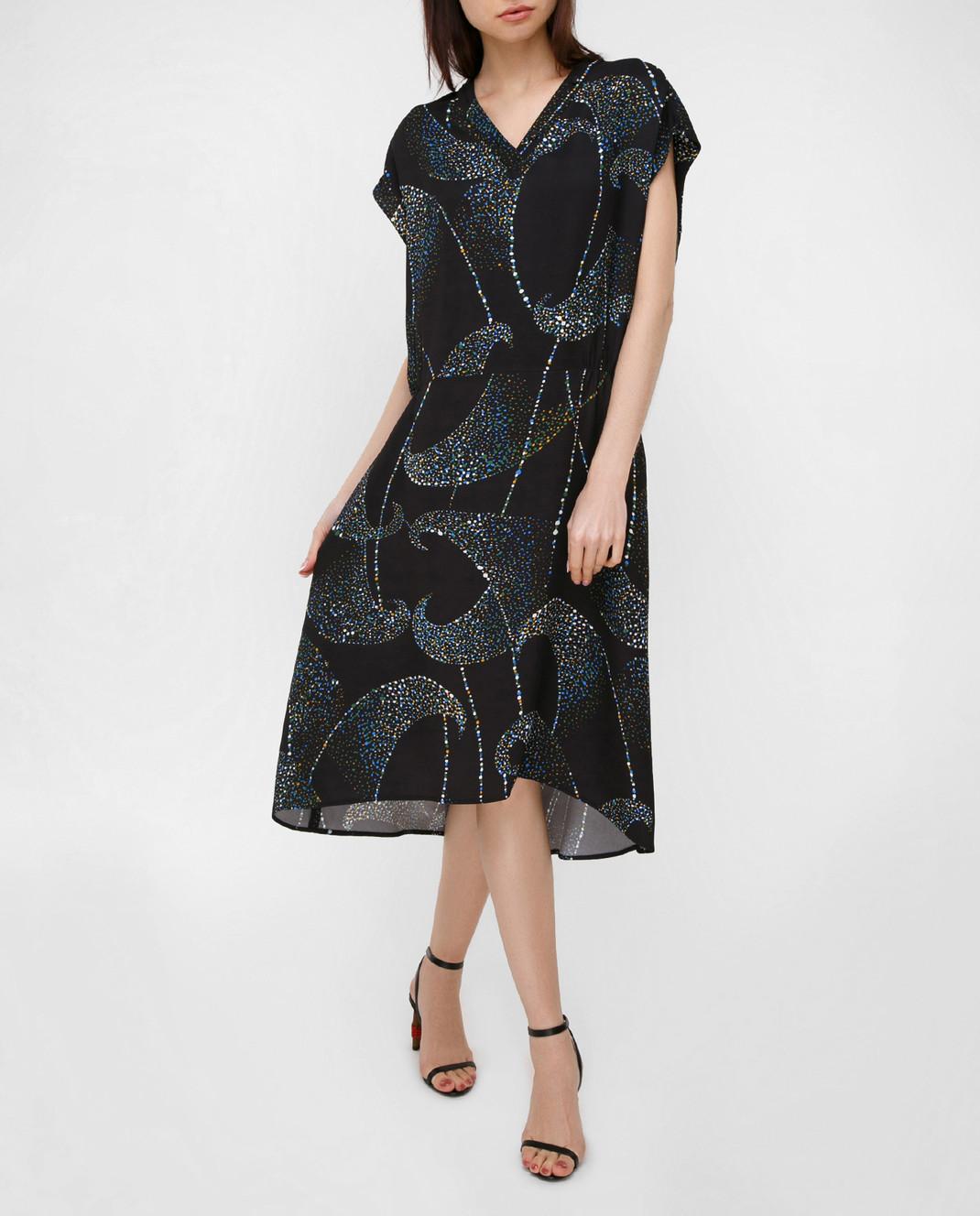 Balenciaga Черное платье 456946 изображение 2