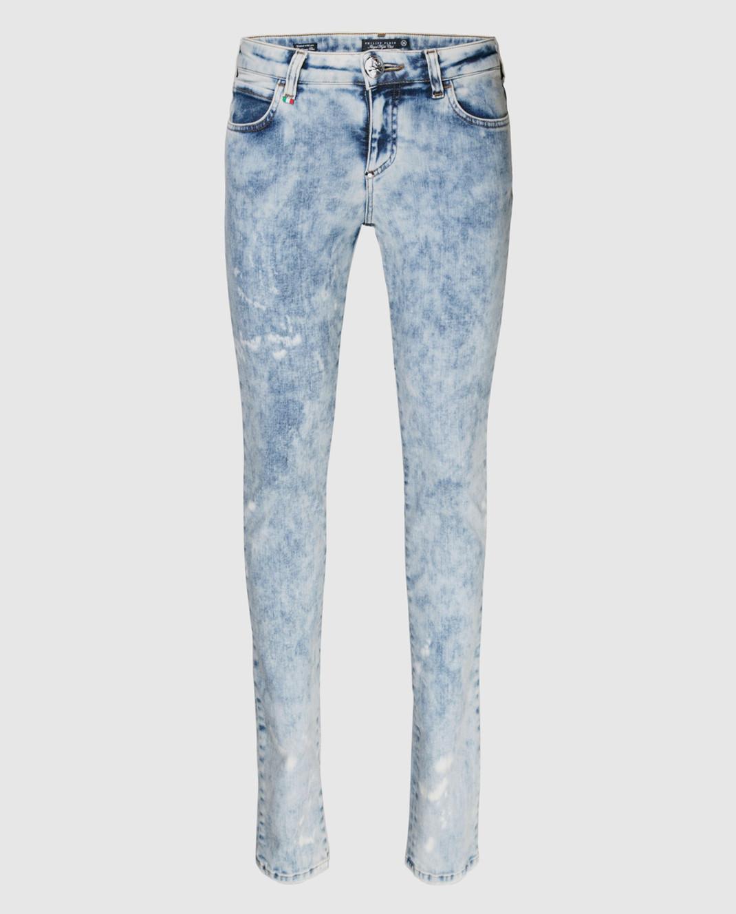 Philipp Plein Голубые джинсы WDT0360