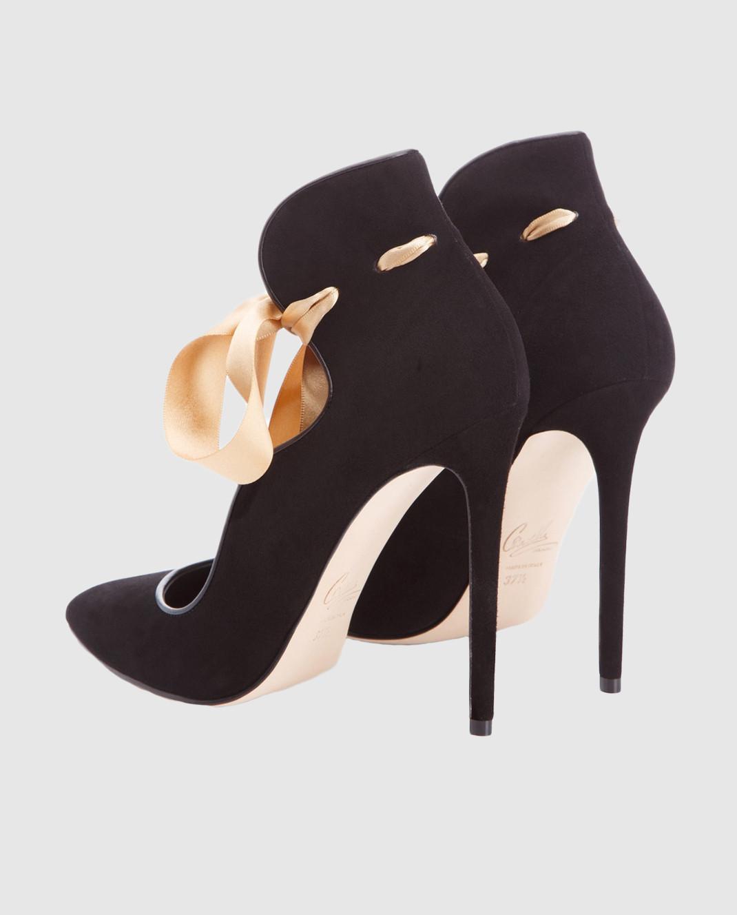 Cerasella Черные замшевые туфли MELISSA MELISSA изображение 4