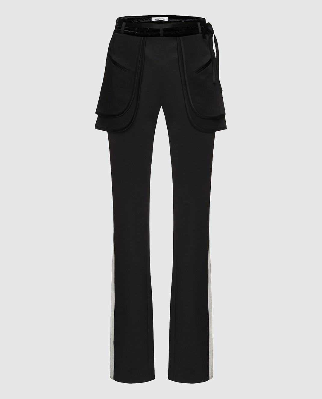 Valentino Черные брюки PB0RB2A53Q3