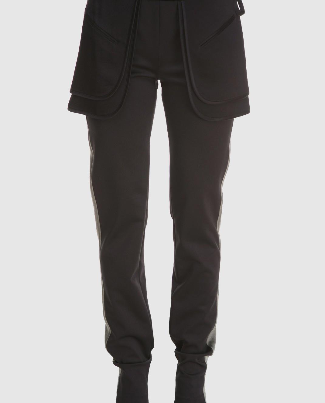Valentino Черные брюки PB0RB2A53Q3 изображение 4
