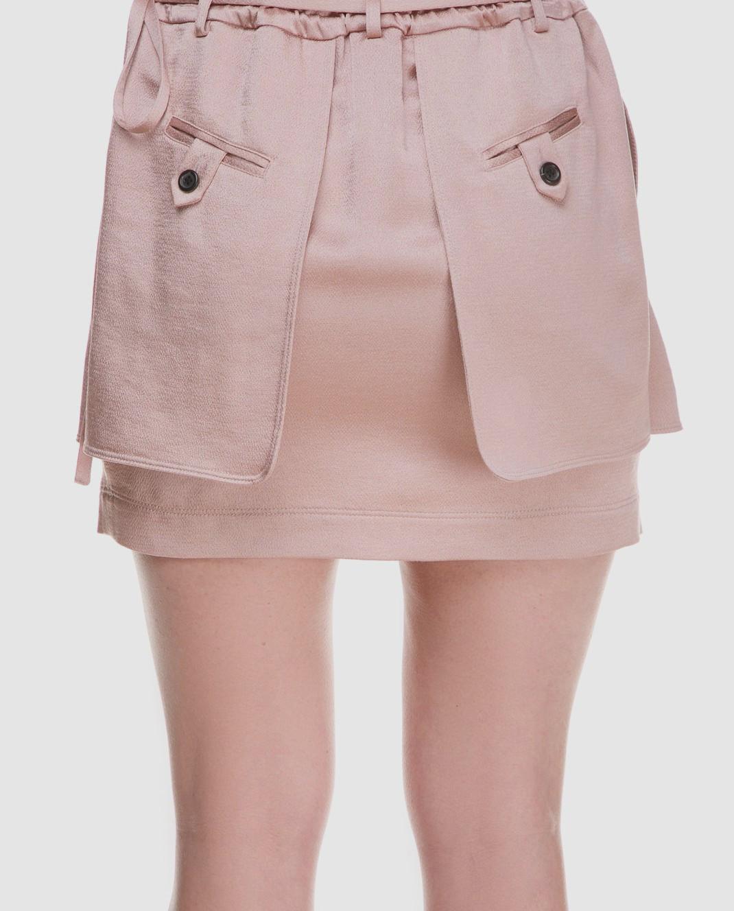 Valentino Розовая юбка PB0RA3K53H3 изображение 5