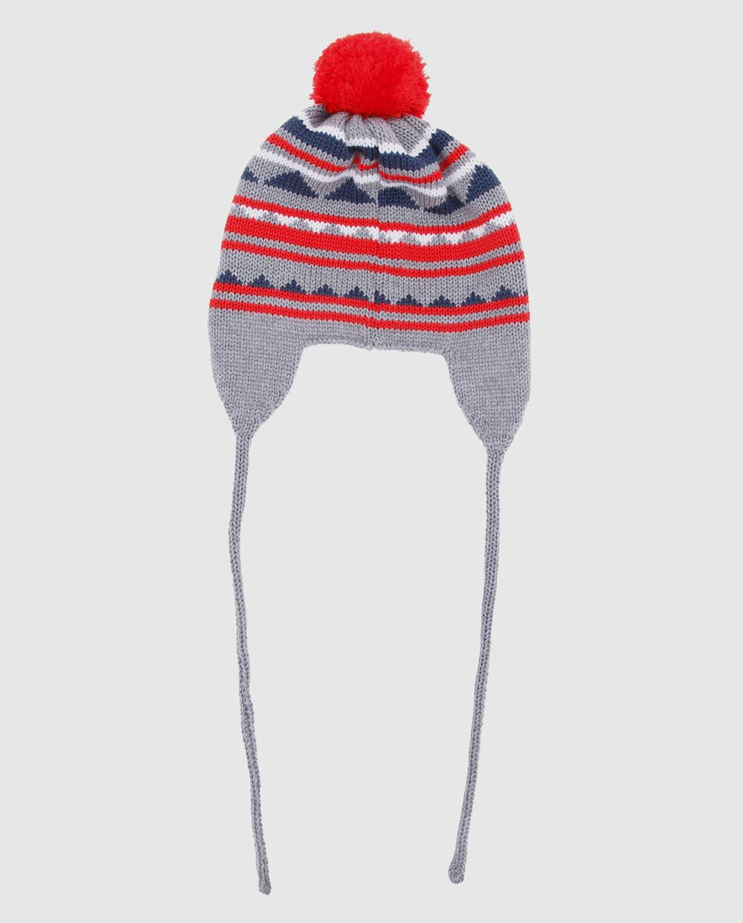 Catya Детская серая шапка изображение 2