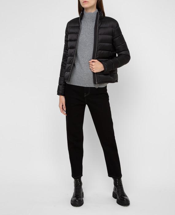 Черная куртка hover