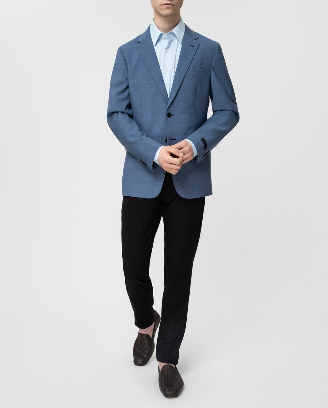 Prada Синий пиджак UGF9421S5T изображение 2
