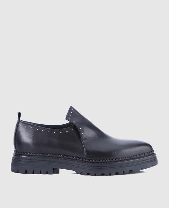 Черные кожаные туфли