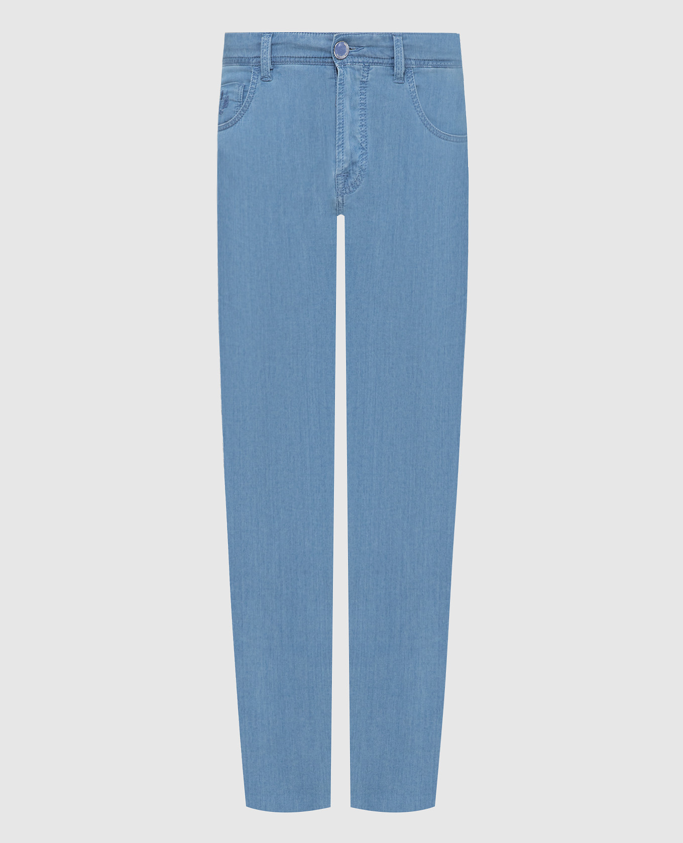 Голубые джинсы Scissor Scriptor