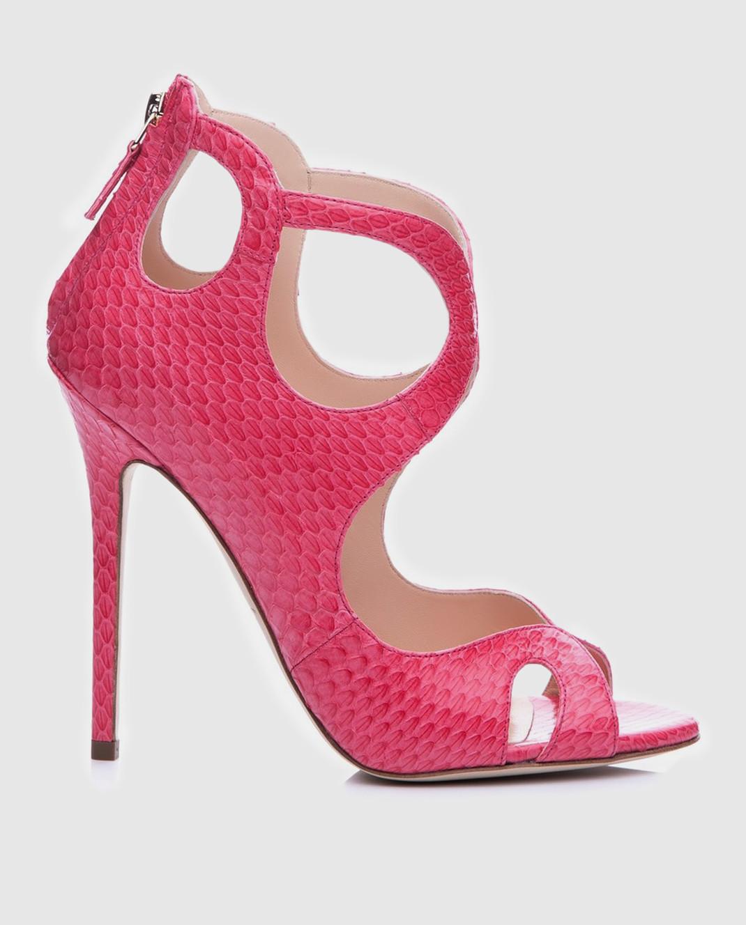 Cerasella Розовые босоножки  FABIOLAELAPHE