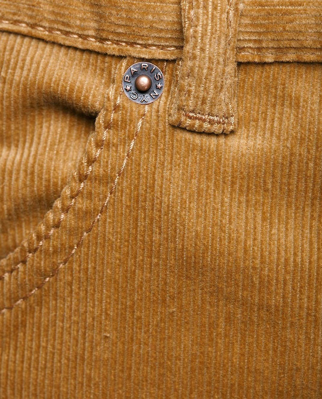 Marc Jacobs Рыжие вельветовые брюки M4007092 изображение 5