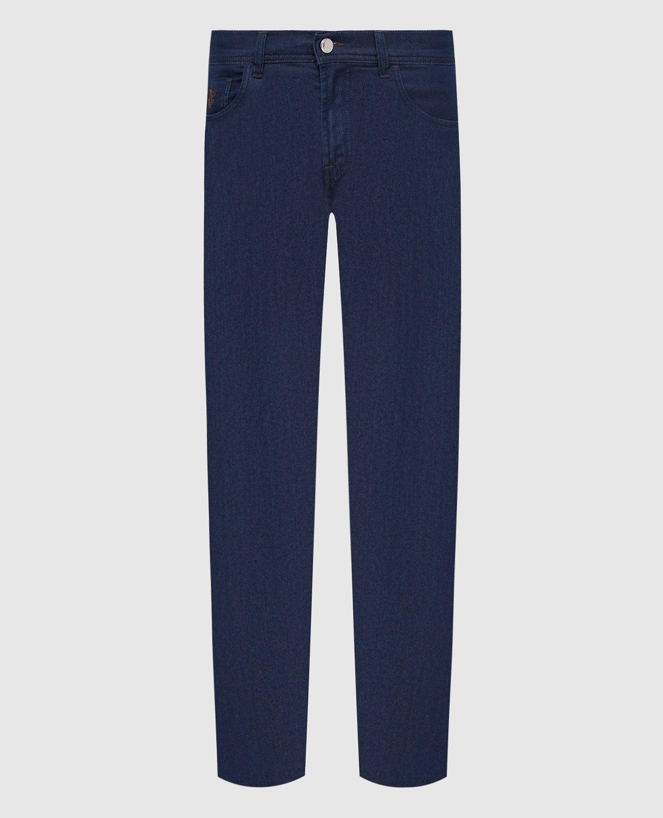 Темно-синие джинсы Scissor Scriptor