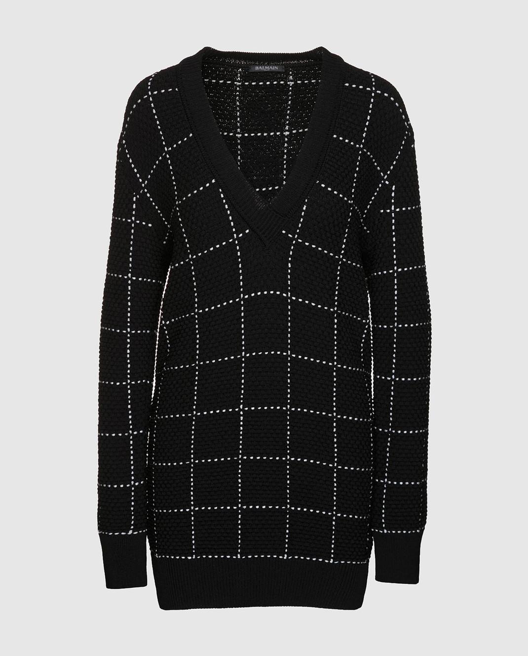 Balmain Черный свитер 136667