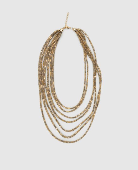 Золотистое ожерелье