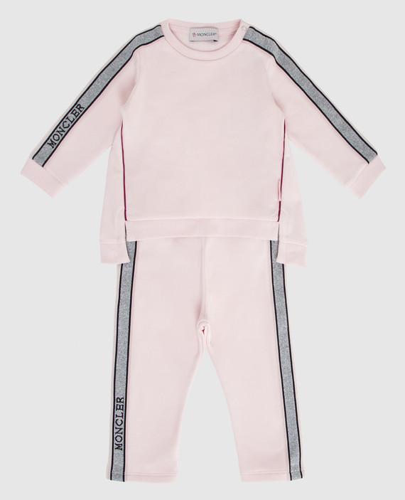 Детский розовый костюм