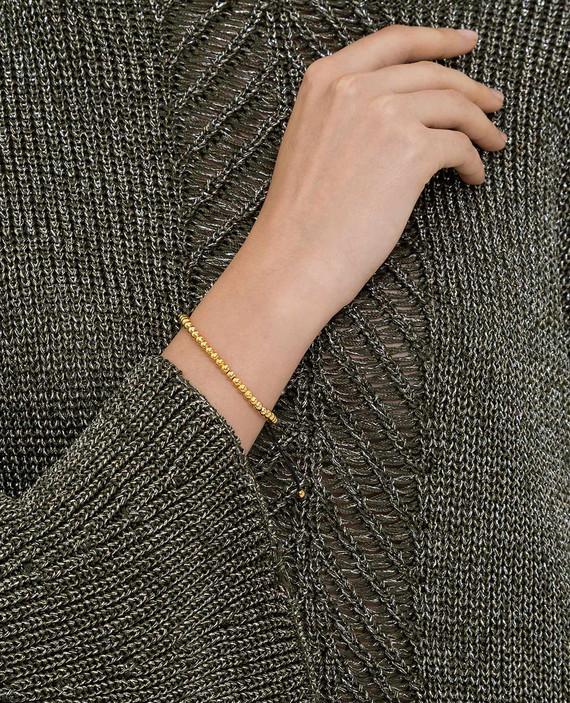 Золотистый браслет из латуни hover