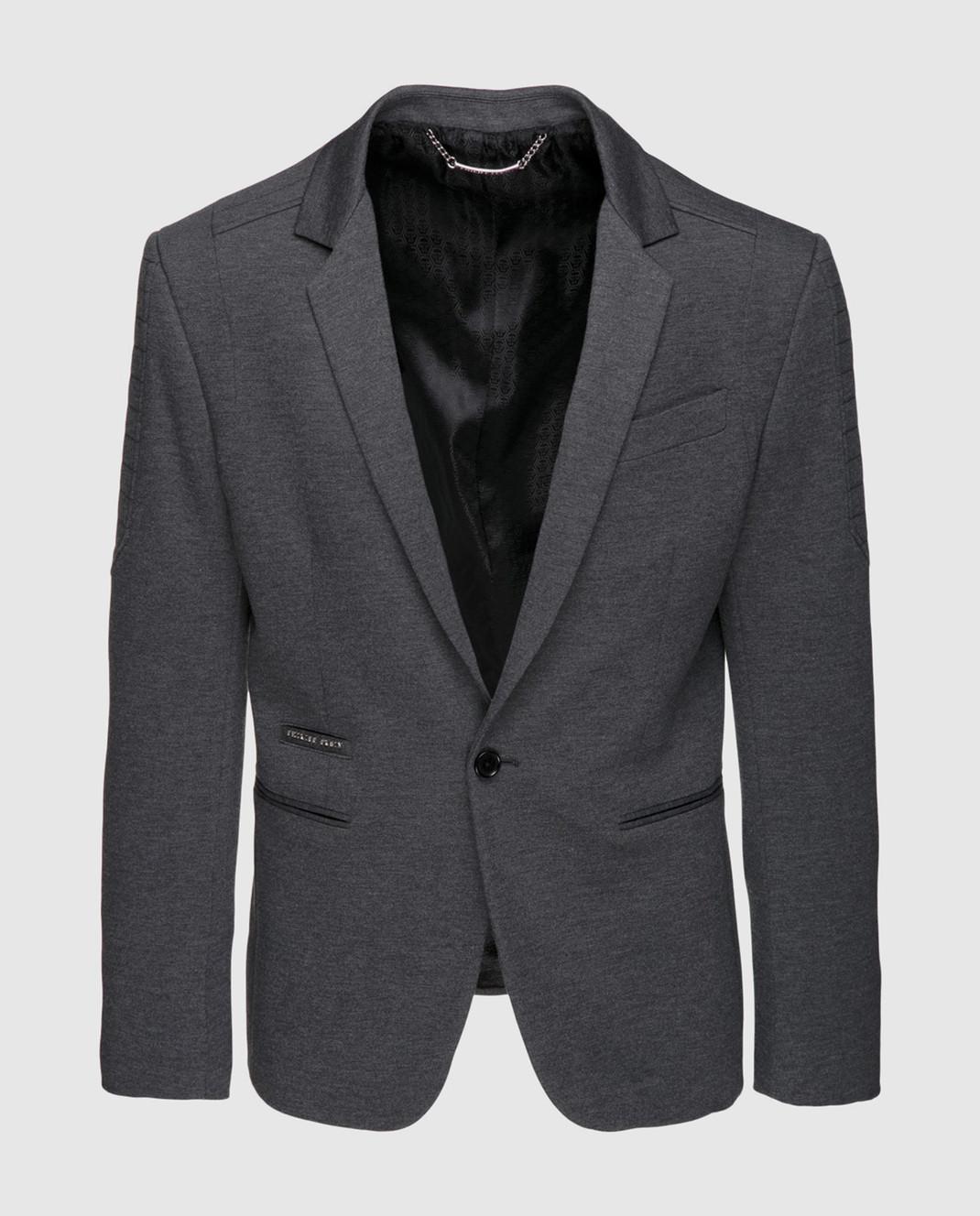 Philipp Plein Серый пиджак MRF0323