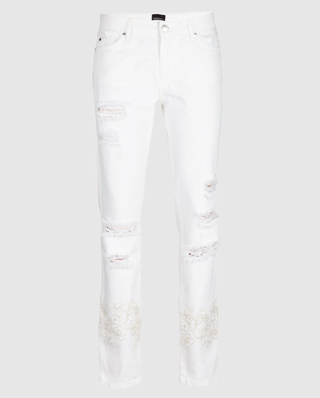 Ermanno Белые джинсы JL09