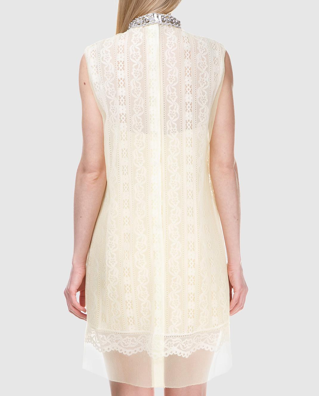 Marc Jacobs Желтое платье с кружевом M4007191 изображение 3