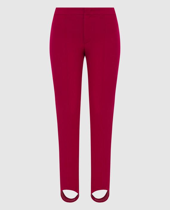Розовые горнолыжные брюки