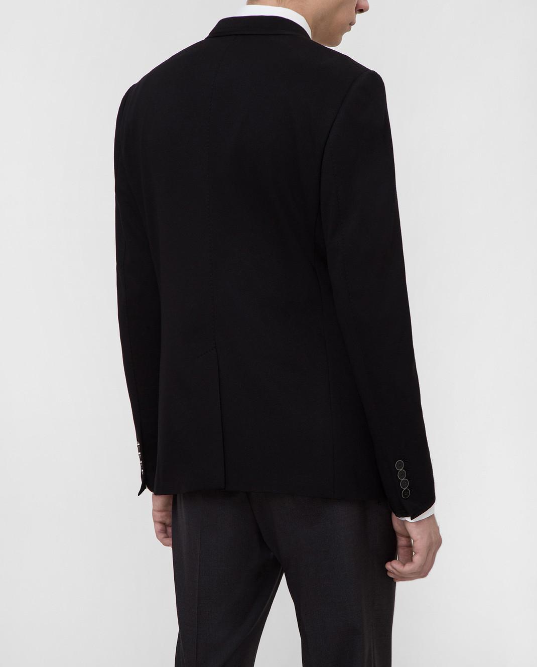 Dolce&Gabbana Черный пиджак G2MR5TFUGI2 изображение 4