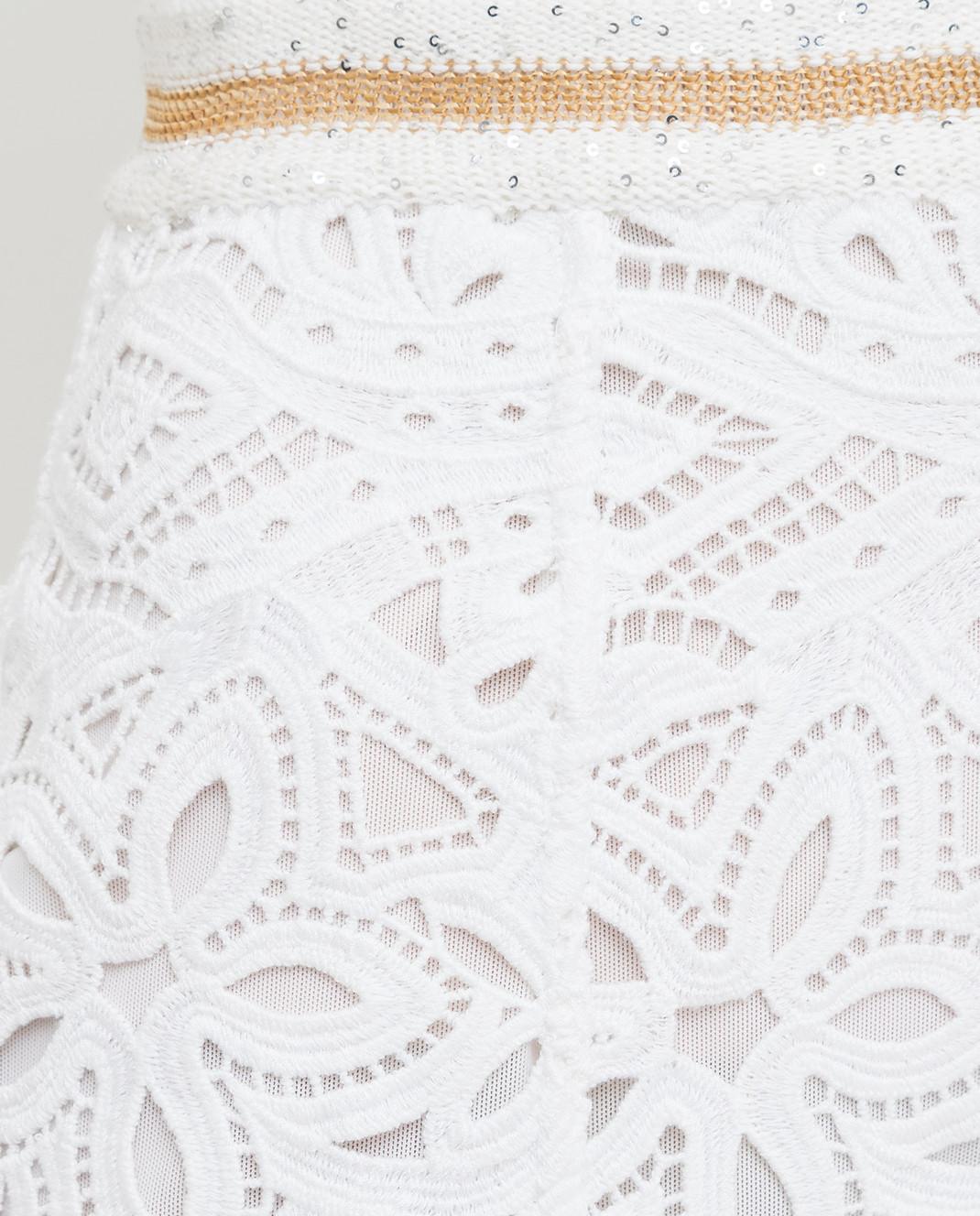 Ermanno Scervino Белая юбка D285O709HEM изображение 5