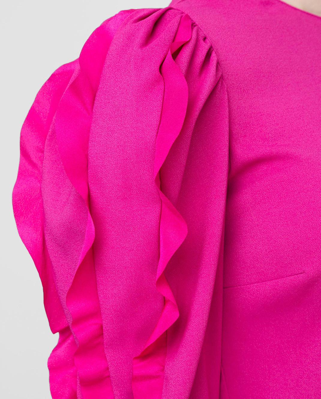 Red Valentino Розовый топ изображение 5