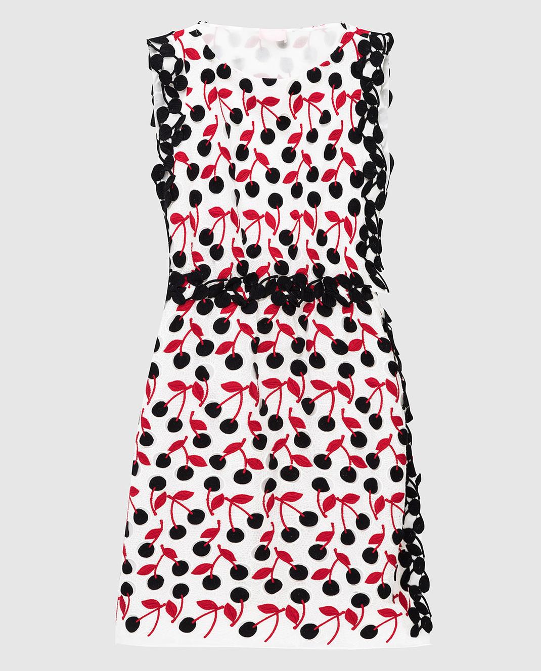 Giamba Белое платье PG5294