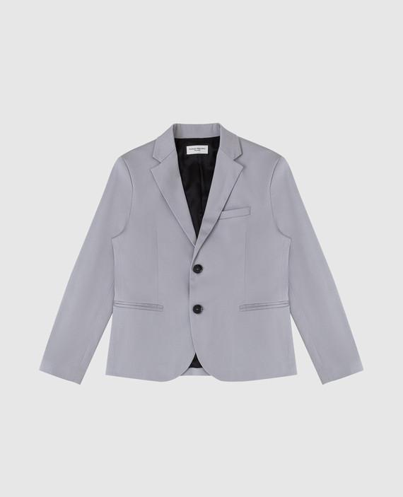 Детский серый пиджак