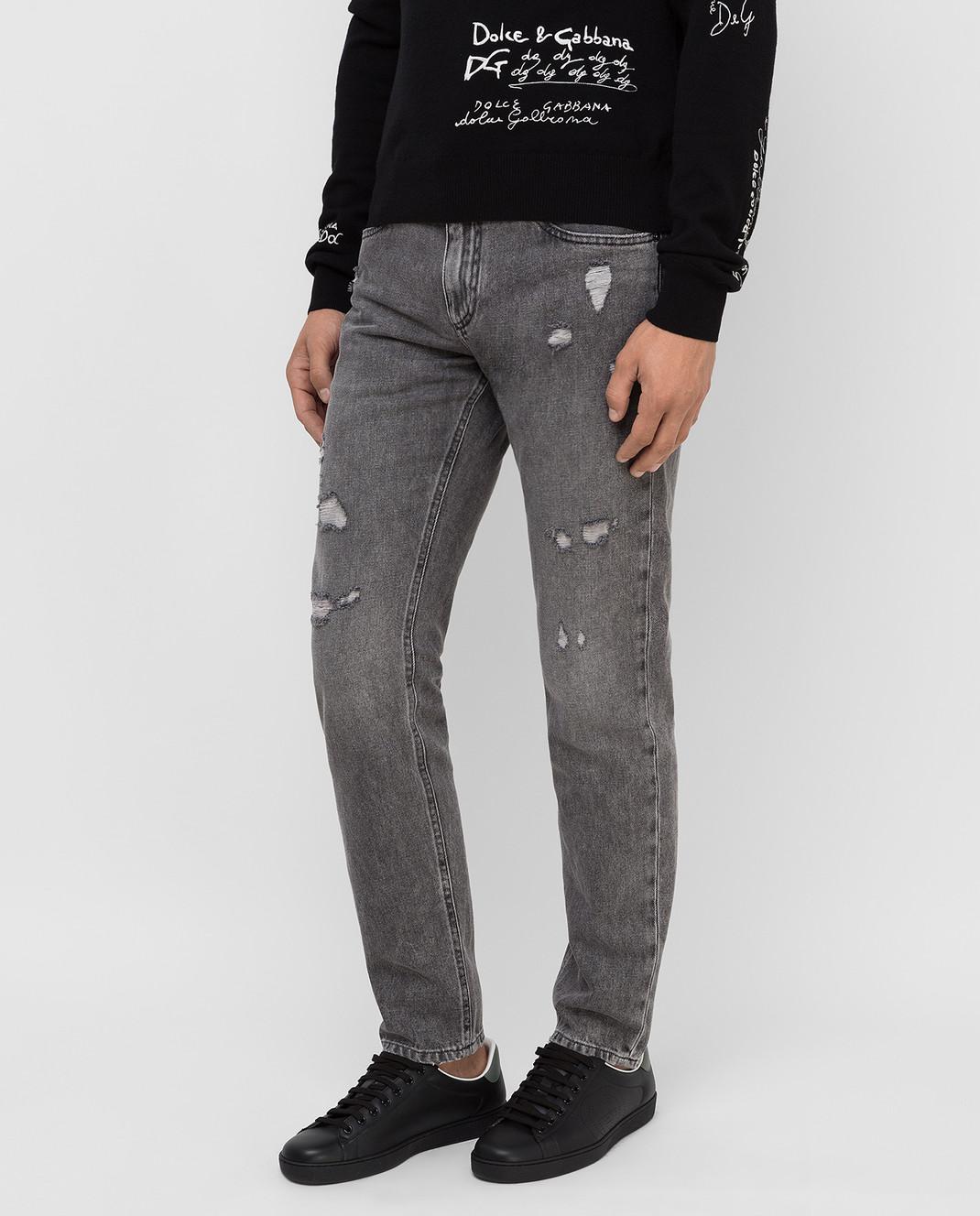Dolce&Gabbana Серые джинсы изображение 3