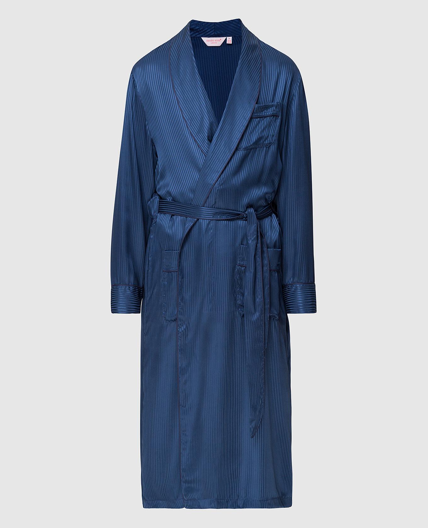 Синий халат