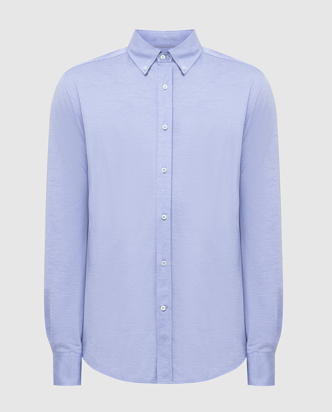 Brunello Cucinelli Голубая рубашка MTS406676