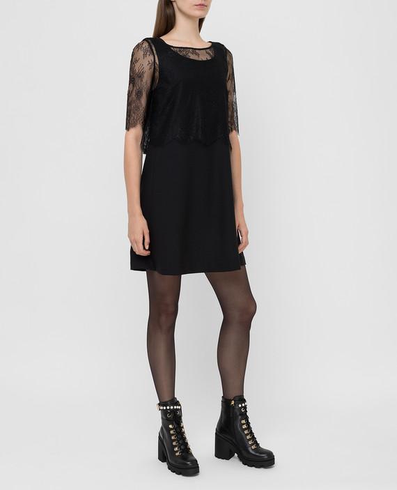 Черное платье hover