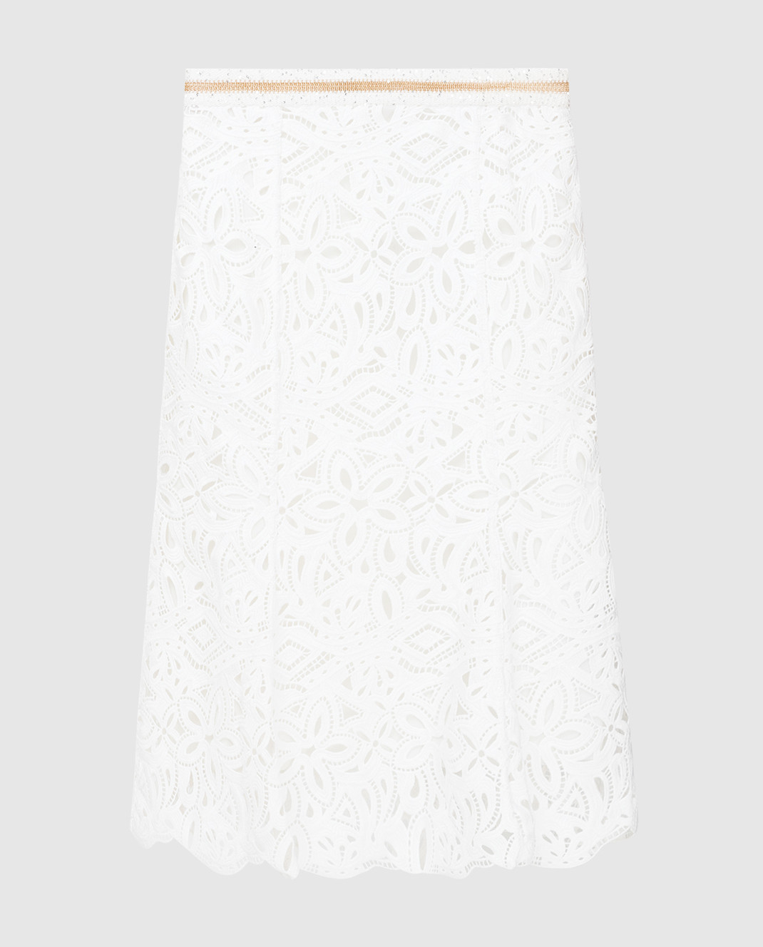 Ermanno Scervino Белая юбка D285O709HEM