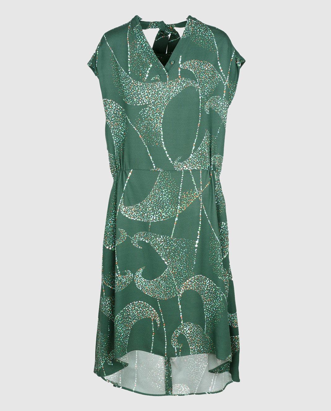 Balenciaga Зеленое платье 456946