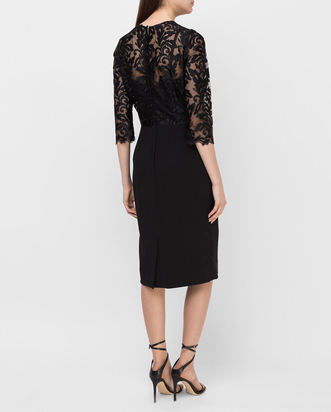 Dolce&Gabbana Черное платье F6VV0TFURDV изображение 4