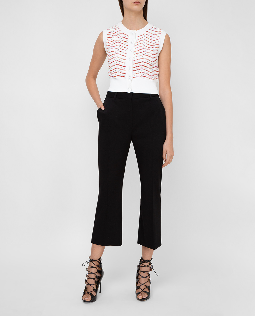 Altuzarra Черные брюки из шерсти изображение 2