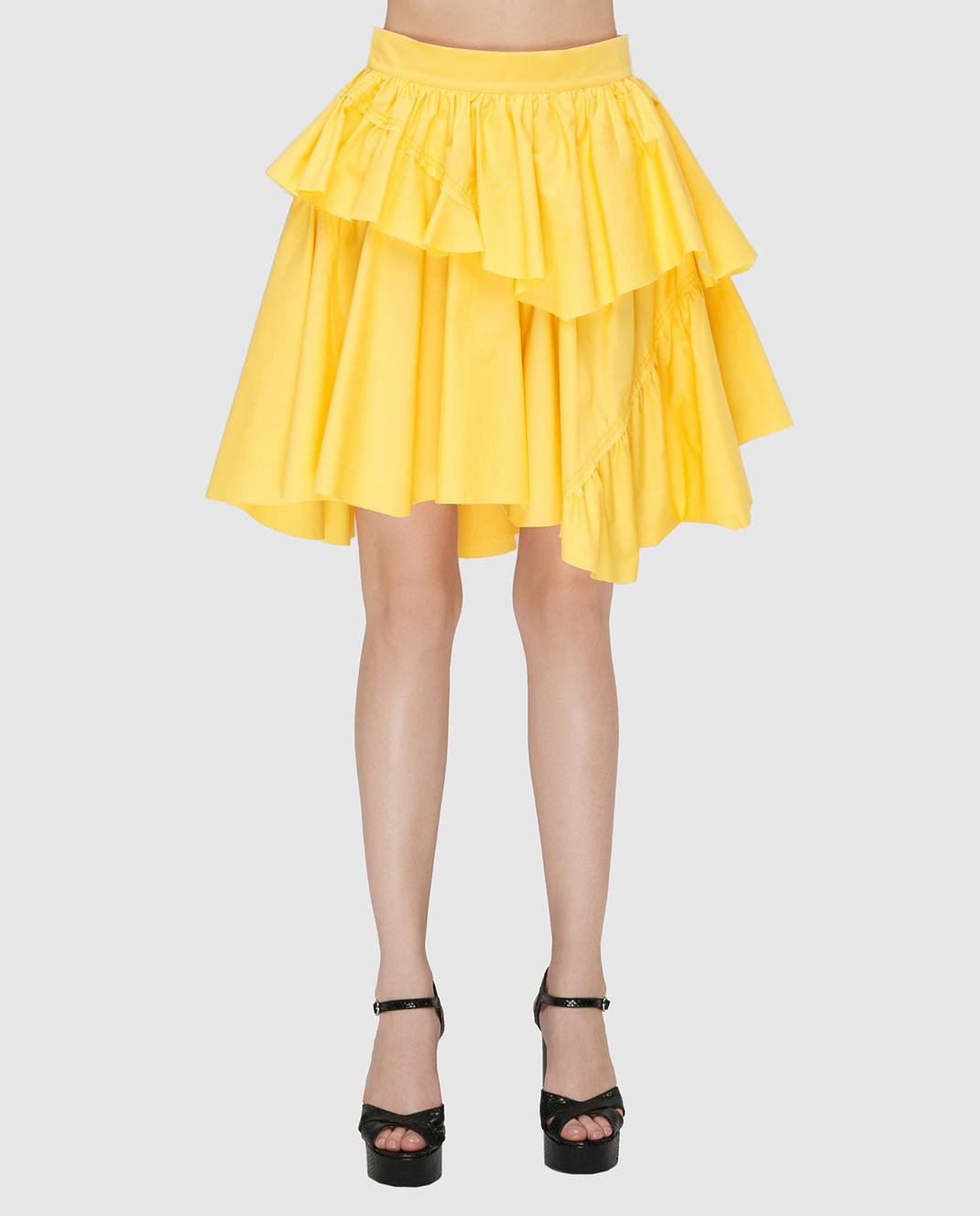 Philosophy di Lorenzo Serafini Желтая юбка A01042143 изображение 3