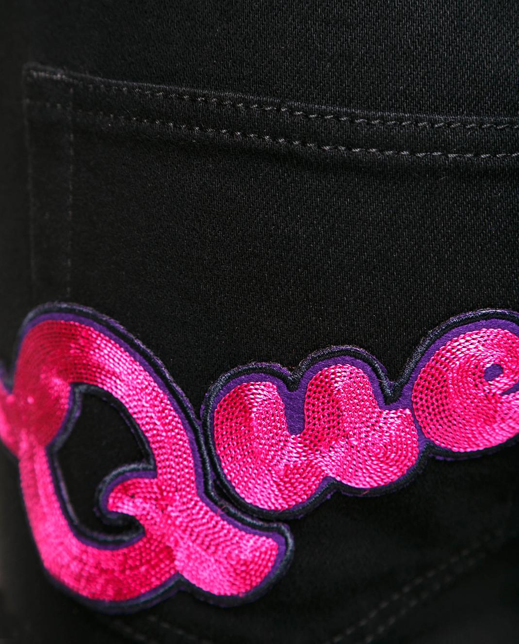 Dolce&Gabbana Черные джинсы FTAH7ZG8T27 изображение 5