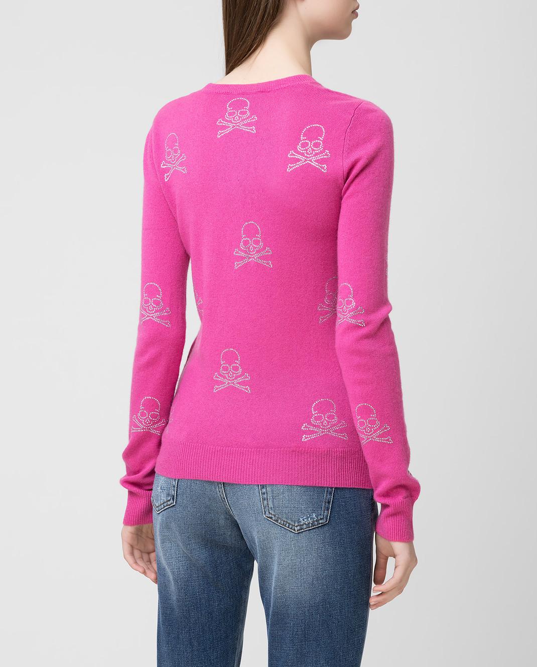 Philipp Plein Розовый джемпер из кашемира WKO0152 изображение 4