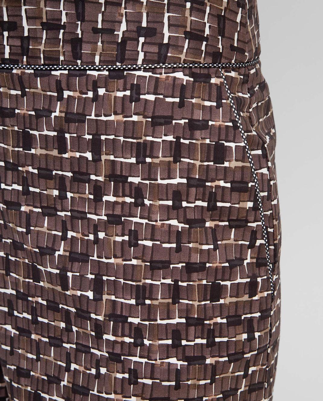 Bottega Veneta Коричневые шорты 448812 изображение 5