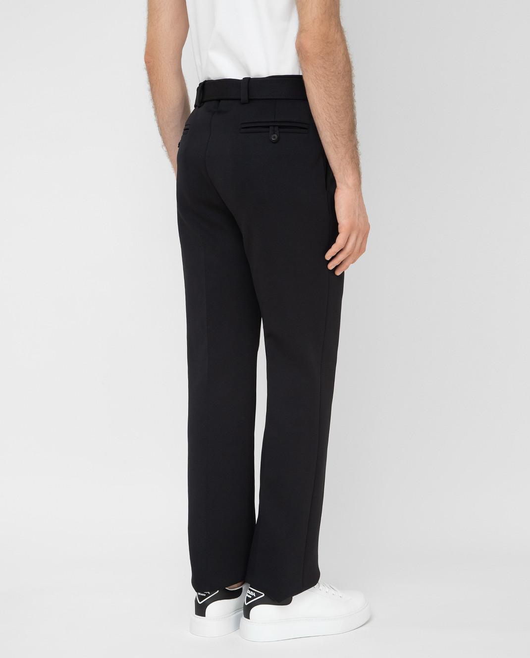 Prada Черные брюки UP00391TQX изображение 4