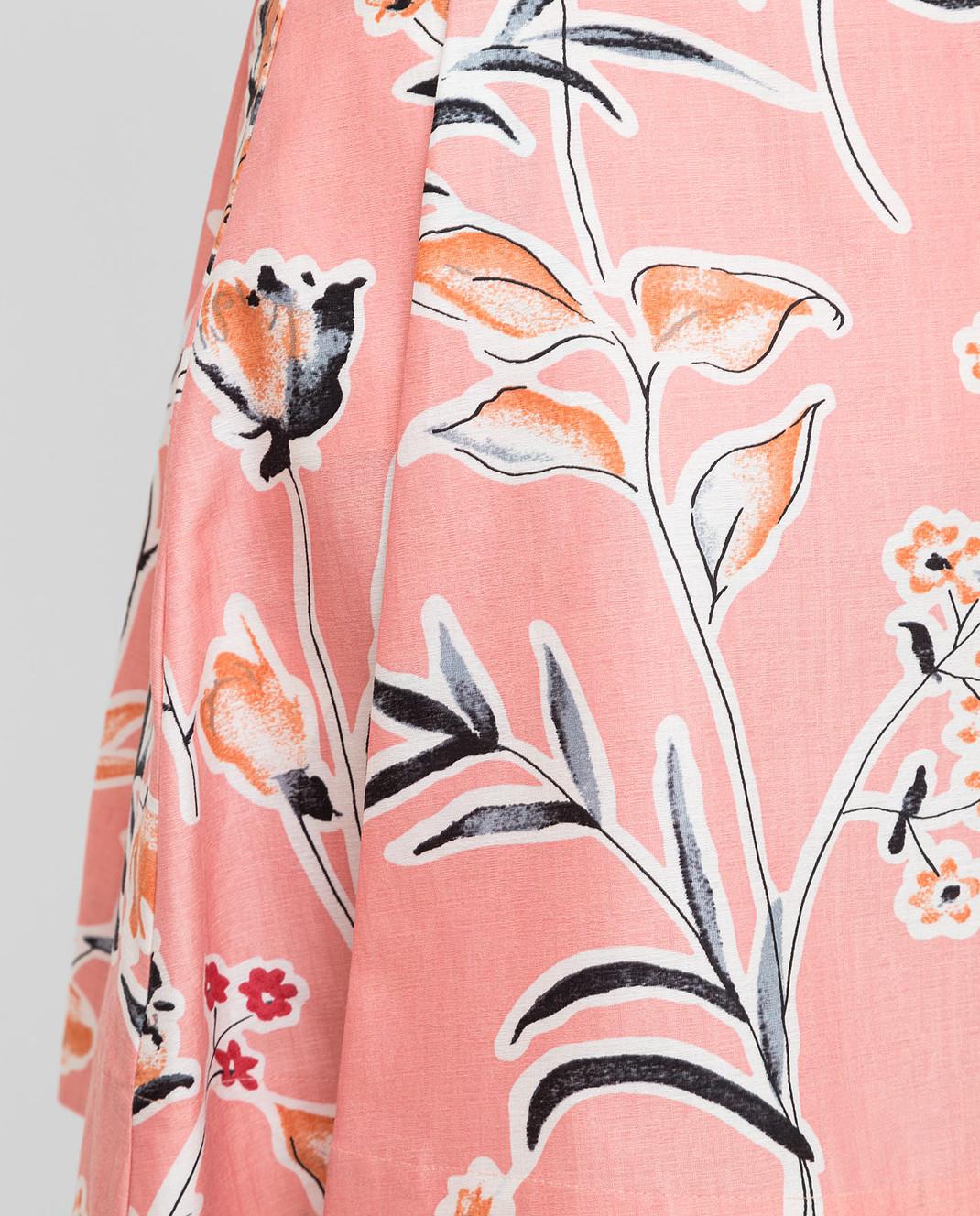 Marni Розовая юбка GOMAR35A00TCR58 изображение 5