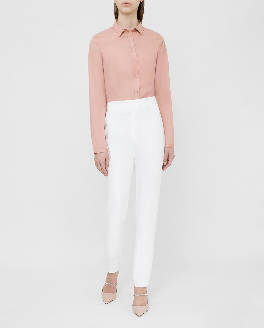 Prada Белые брюки P298C1VS4 изображение 2