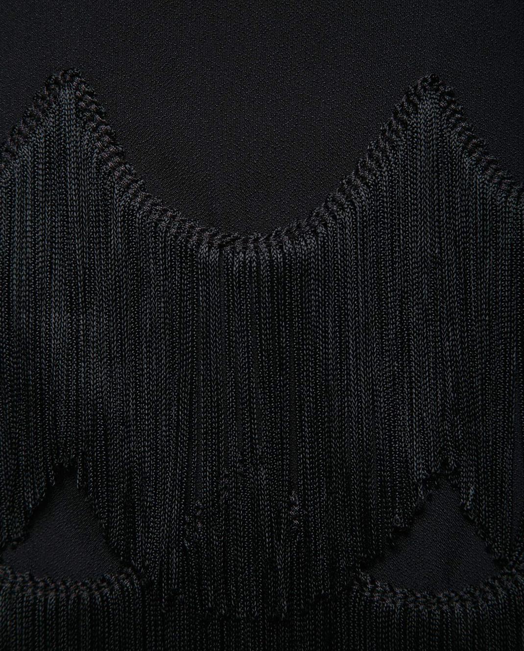 Marc Jacobs Черная юбка с бахромой M4007161 изображение 5