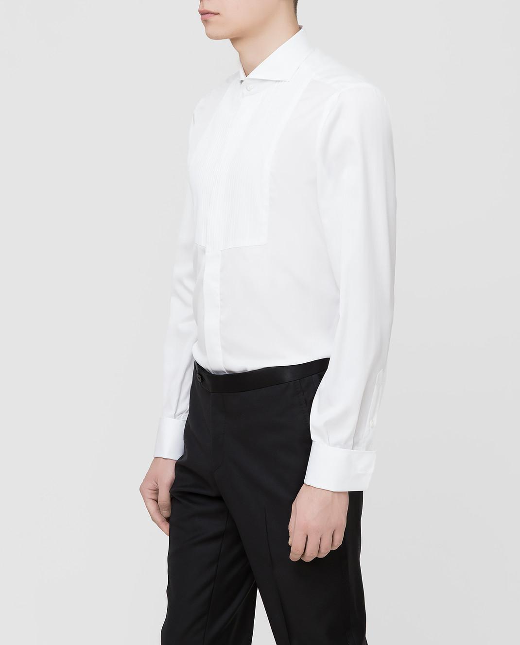 ISAIA Белая рубашка MI18KCKM168 изображение 3