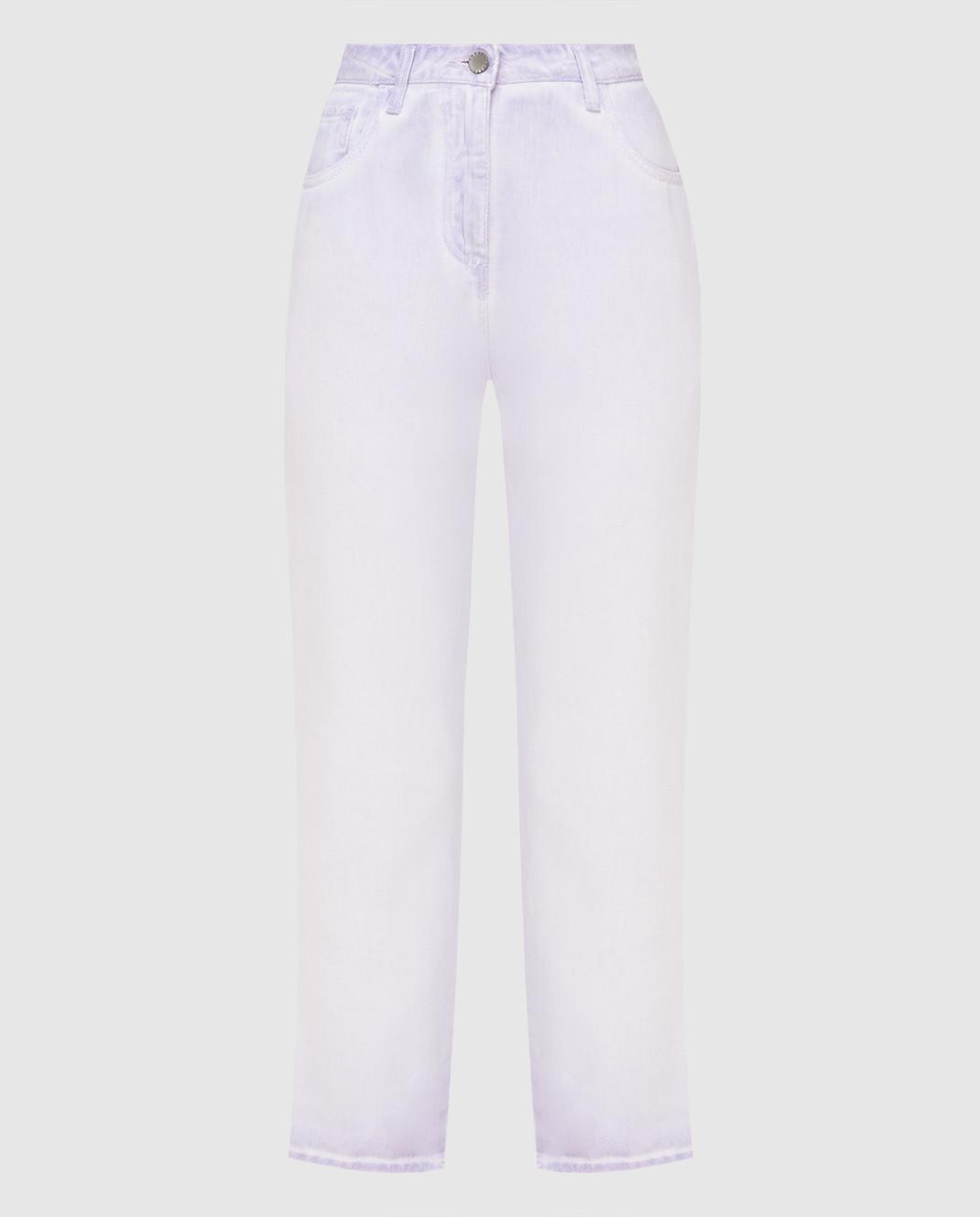 Twin Set Сиреневые джинсы PS72SU
